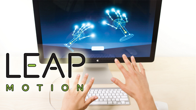 Leap Motion - hands example