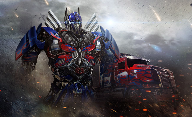 Optimus Prime and Truck