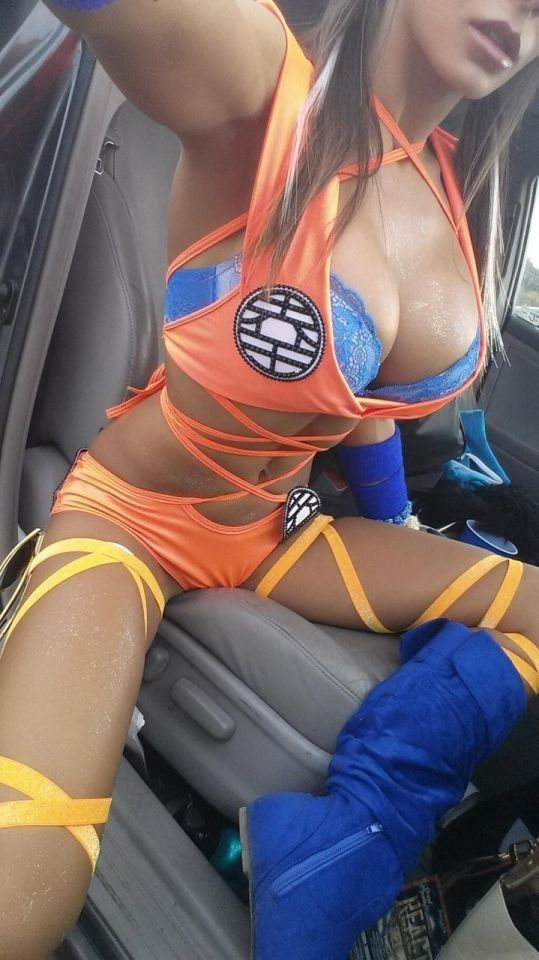 dragon ball z sexy