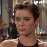 "Pam Bouvier - played by Carey Lowell in ""License to Kill"""