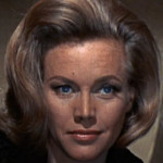 Pussy Galore - played by Honor Blackman in You Only Live Twice""