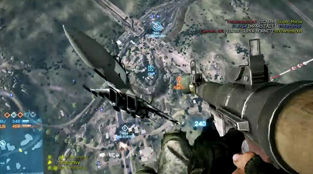 Battlefield 3 Ridiculous Kill