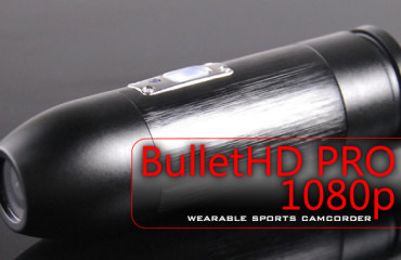 BulletHD PRO 1080p Wearable Sports Camcorder