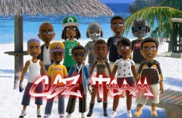 CGZ Team at the Beach (Avatars)
