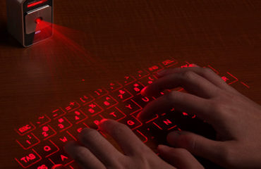 Cube Laser Virtual Keyboard for IPhone and iPad