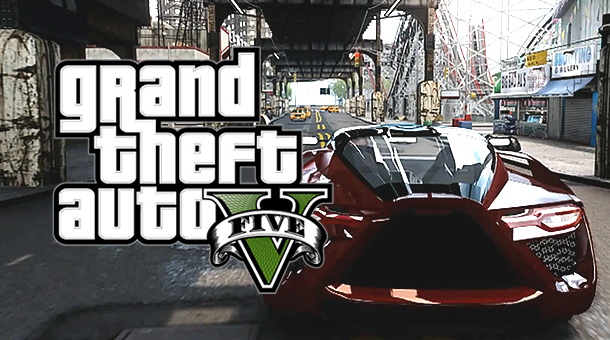 Grand Theft Auto 5 - Downtown Sport Car