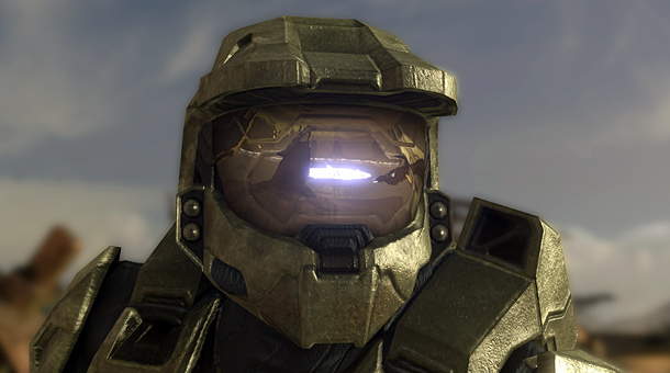 Halo's Master Cheif (close up)