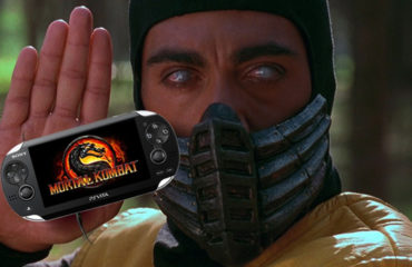 Mortal Kombat PS Vita (Scorpion)