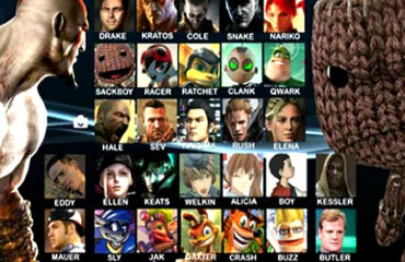 Playstation All Stars Battle Royal (mockup)