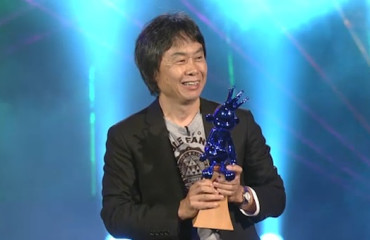 Shigeru Miyamoto Hall of Fame Acceptance for Legend of Zelda