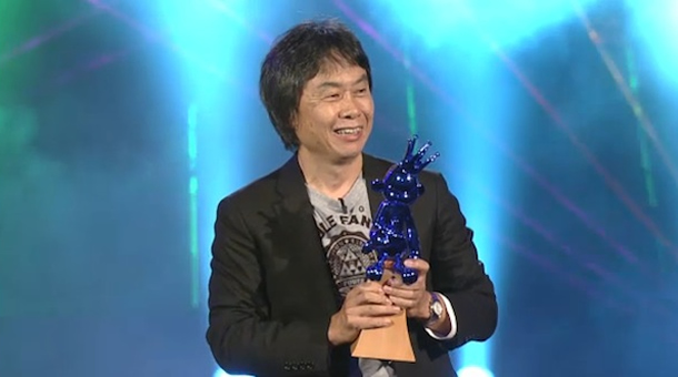 Shigeru Miyamoto Hall of Fame Acceptance for Legend of Zelda