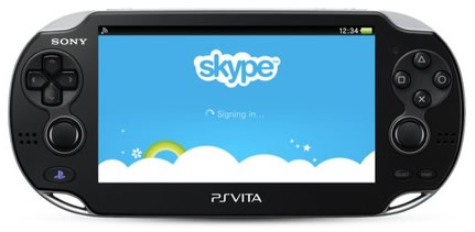 Skype for PS Vita Confirmed (login)
