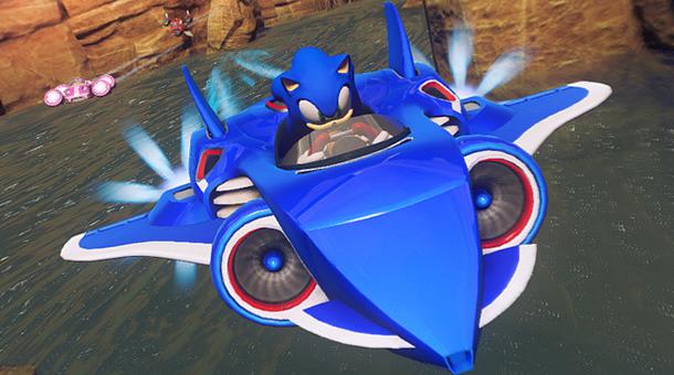 Sonic & All-Stars Racing Transformed (Jet)