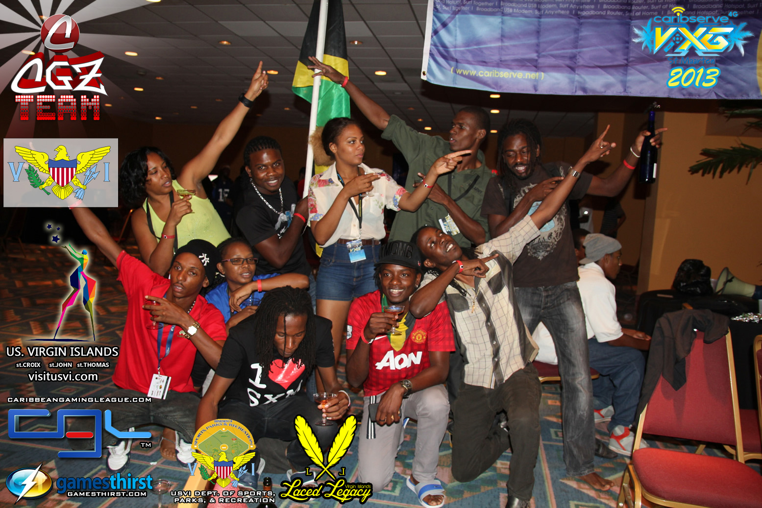 Jamaican Team Celebrates FIFA 2013 Victory