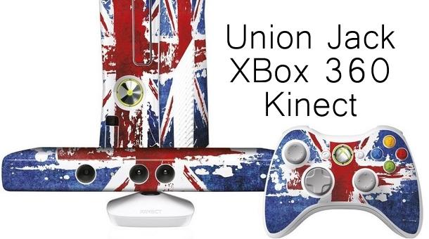 Union Jack XBox 360 Kinect