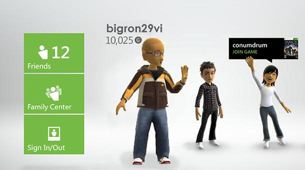 Xbox 360 - Dashboard 4 - bigron92vi